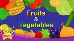 Kids vocabulary - Fruits & Vegetables 1 - Learn English for kids - Engli...