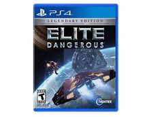 Elite Dangerous: The Legendary Edition - PlayStation 4 Take control of your own starship in a cutthroat galaxy. Elite Dangerous brings gaming's original open world adventure into the modern generation with a connected galaxy. Pc Online, Game Mechanics, Game Codes, Vintage Video Games, Electronic Art, Mass Effect, Xbox One, Playstation, Adventure