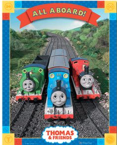 Thomas & Friends Train All Aboard Mini Poster