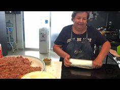Rollo de carnes frías para ésta navidad - YouTube Mens Tops, Youtube, Cold, Favorite Recipes, Xmas, Lace, Youtubers, Youtube Movies
