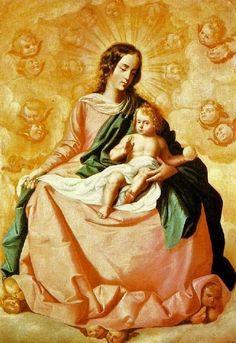 Francisco de Zurbarán (Spanish painter, 1598–1664) Virgin and Child
