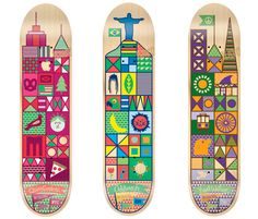 As one who has an adult son who is still a skateboarder I\u0027ve loved skate deck art for many years. PLUS I work for the company that makes Tech Deck mini toy ...