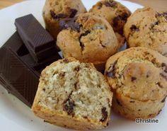 Petits gâteaux aux pépites de chocolat (pour utiliser vos blancs d'oeuf)