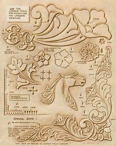 Leather Stamps, Leather Art, Custom Leather, Leather Tooling, Leather Jewelry, Leather And Lace, Tooled Leather, Handmade Leather, Leather Working Patterns
