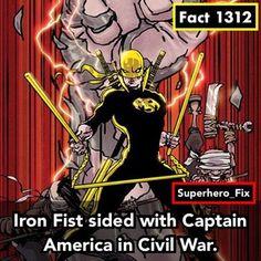 Iron Fist  - #defenders #ironfist #captainamerica #marvel #ironman