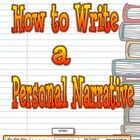 """Common Core Aligned """"How to Write a Personal Narrative"""" focuses on how to write a three paragraph personal narrative with; beginning (problem), mid..."""