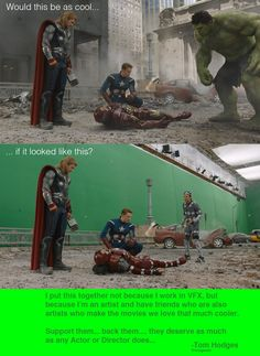 Support VFX workers