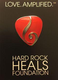Hard Rock Heals Foundation Pin.