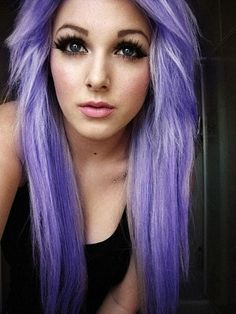 Love this light purple hair
