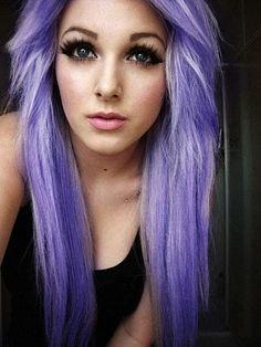 Love this light purple hair