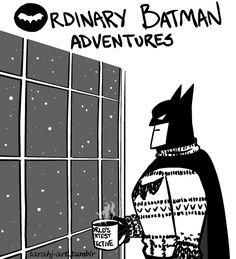 "The ""Ordinary Batman Adventures"" by Sarah Johnson on The Orange Co."