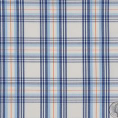 This is a light weight, slightly stiff, cotton shirting with a woven plaid…FC13146