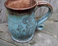 ceramic coffee mug on Etsy, a global handmade and vintage marketplace.