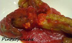 Pintxopinche. La cocina sin gluten: PIMIENTOS RELLENOS MALAGUEÑOS SIN GLUTEN