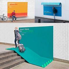 Confira algumas das ideias de objetos desenhados para aproximar as pessoas das cidades