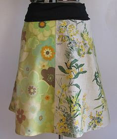 Another awsome skirt from tea-towel. Love the gathered waistband.