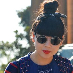 Suzy Bubble always inspire me to think outside the box.. And I LOVE the red lipstick