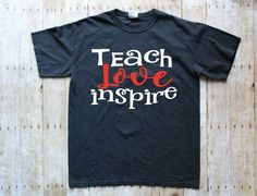 Teacher T-Shirt - Teacher Shirts - Teacher T-Shirts - Shirt for Teachers - Teacher Shirt - Teacher Tee - Teacher t shirt - Teacher tshirt by SimplyCozyTees on Etsy https://www.etsy.com/listing/491988160/teacher-t-shirt-teacher-shirts-teacher-t