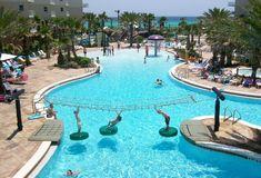 The 5 Best Resort Pools in Destin, Florida - The Good Life Destin Destin Florida Vacation, Destin Resorts, Florida Hotels, Destin Beach, Florida Travel, Florida Beaches, Beach Resorts, Florida Trips, Florida Keys