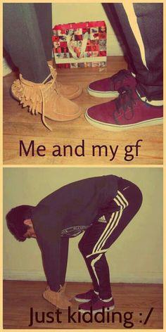 Me & my girlfriend...