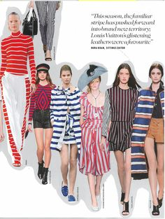 SS15 look in Vogue, The catwalk edit