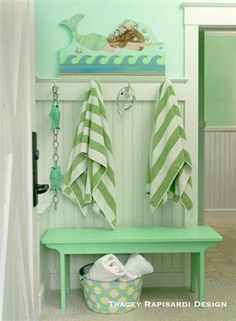 Pool Bathroom decorating our diy playhouse & pool house for our teens | pool