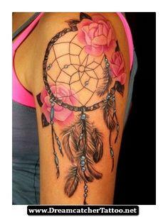 Dreamcatcher Tattoos On Girls 01 - http://dreamcatchertattoo.net/dreamcatcher-tattoos-on-girls-01/