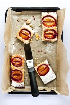 Poached Plum Cake by Mowie Kay