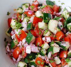 Food Guy :: Israeli Salad