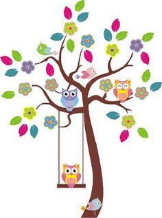 Dibujos arboles decorativos buscar con google - Vinilos arboles decorativos ...