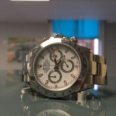 Black and White dials in stock!  Rolex Daytona!