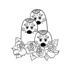 Dugtrio de los Muertos | Pokemon & Day of The Dead Mashup by abowersock…