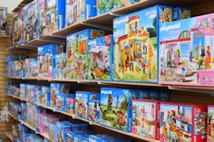 We've got a great selection of Playmobil at both our San Antonio stores. Come see. We're open daily!