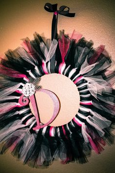 Would be cute to frame a small round mirror for a girls room