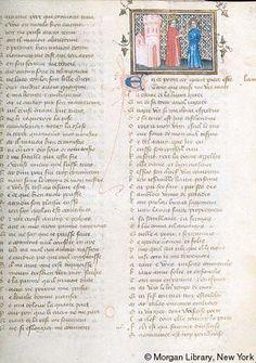 Roman de la Rose, MS G.32 fol. 24r - Images from Medieval and Renaissance Manuscripts - The Morgan Library & Museum