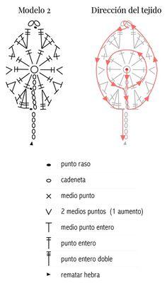Como tejer una hoja a crochet, diagrama video y tutorial paso a paso