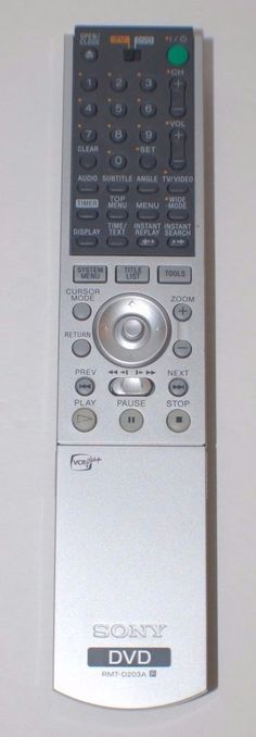 Genuine Sony Remote, for DVD Player/Recorder #Sony #SonyRemote #SonyDVD #SonyDVDPlayer