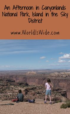 We spent a beautiful afternoon in Canyonlands National Park's Island in the Sky (IIS) district. Canyonlands probably doesn't get as much love and attention as Arches National Park due to its distance from major town, but the stunning views in this park are simply not to be missed.  #travel #travelblog #travelblogger #travelbloggers #travelplanning #familytravel #travelwithkids #bucketlist #travelbucketlist #utah #canyonlands
