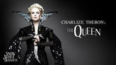 Charlize Theron as the Evil Stepmother, Ravenna  {Snow White & the Huntsman}