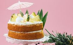 Make the most of summer with this this easy Pina Colada cake recipe from In the Kitchen with Kate.
