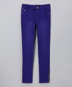 Express Purple Skinny Jeans for Girls by Blow-Out on #zulily today! #Fall Reg $36 now just $11.99! Sizes 10, 12 & 14 left