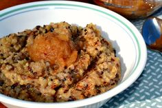 Great #glutenfree alternative to oatmeal! Apple Cinnamon Breakfast Quinoa. Try it with coconut oil instead of canola, and sweetened with stevia for Phase 3 of the #FastMetabolismDiet