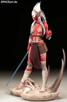 Star Wars: Shaak Ti, Statue / Premium Format Figur ... https://spaceart.de/produkte/sw127.php