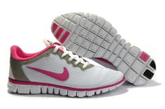 Femme Blanche Rose Nike Free 3.0 Pas Cher V2 Faible Net Chaussures
