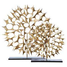 DwellStudio Cosmos Sculpture Gold