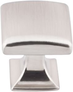 """Top Knobs Contour series in the Transcend Collection of cabinet hardware. 1 1/8"""" Knob seen in Brushed Satin Nickel. Available in 5 finishes, Brushed Satin Nickel, Polished Chrome, Polished Nickel, Sable and Umbrio."""