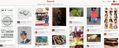 """Pinterest design spreading like a virus, because it works""    -----    But please don't start trying to force friends on us FTLOG!!!!!!    This is feeling more like Facebook!"
