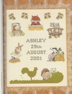 Gallery.ru / Фото #46 - Adele Welsby`s - Cross Stitch Characters - anfisa1