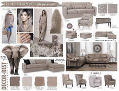 Decor-Rest Trend Council - Hazy Taupe. You'll be seeing a lot of these colours this fall at MJM Furniture. #mjmfurniture #decorrest #taupe #sand #pewter #colour #trend #furniture #home #decor #design #homedecor #interiordesign #sofas #sectionals #madeincanada #vancouver #vancity #fall2016 #upholstery