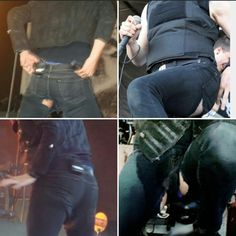 An ode to Gerard's holey jeans...